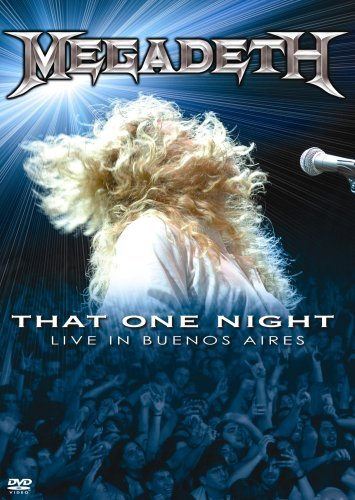 Megadeth That One Night Live In Buenos Ws Nr