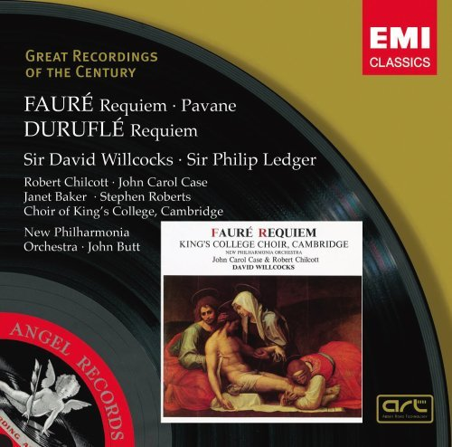 King's College Choir Faure Requiem Pavane Willcocks New Po