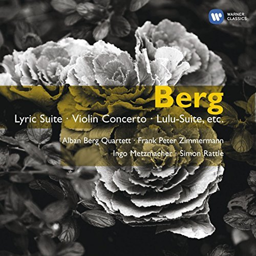 A. Berg Berg Lyric Suite 2 CD Rattle Indo Metzmacher