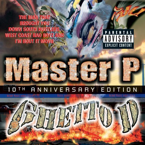 Master P Ghetto D 10th Anniversary Ed. Explicit Version Incl. Bonus CD