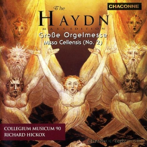 J. Haydn Masses Nos. 5 & 8 Gritton Winter Padmore & Hickox Collegium Musicum 90