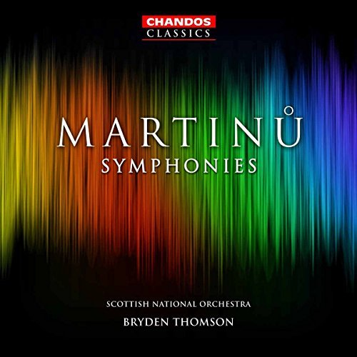 B. Martinu Sym 1 6 Thomson Royal Scottish Natl Or