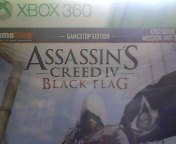 X360 Assassin's Creed Iv Black Flag Gamestop Edition Gamestop Edition