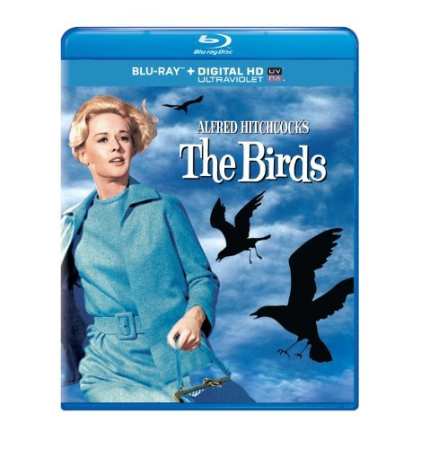 The Birds Taylor Tandy Pleshette Blu Ray Pg13 Uv