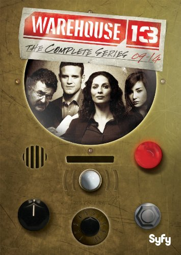 Warehouse 13 The Complete Series DVD