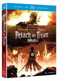 Attack On Titan Part 1 Blu Ray DVD