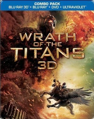 Wrath Of The Titans 3d Worthington Neeson Fiennes Hus Blu Ray 3d Steelbook