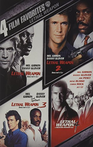 Mel Gibsson Danny Glover Joe Pesci Rene Russo Chri Lethal Weapon 1 4