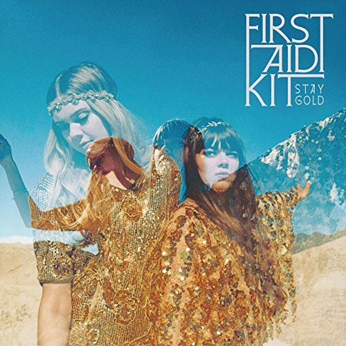 First Aid Kit Stay Gold Black Vinyl