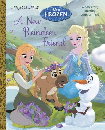 Random House Disney A New Reindeer Friend (disney Frozen)