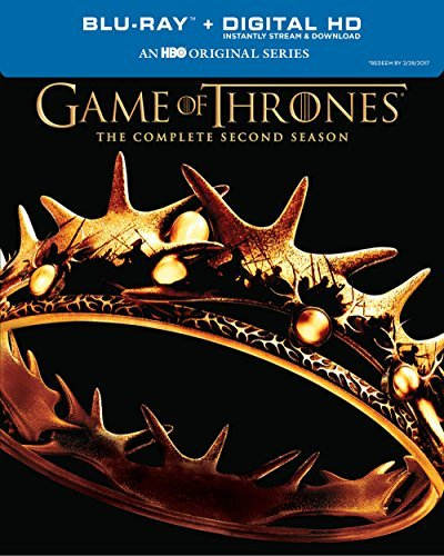 Game Of Thrones Season 2 Blu Ray Dc Nr