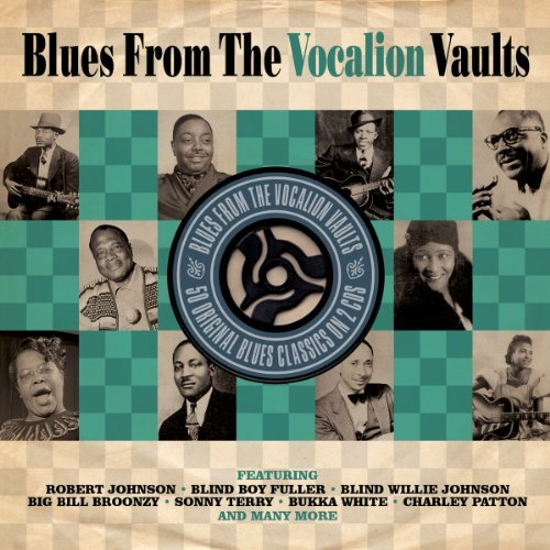 Blues From The Vocalion Vaults Blues From The Vocalion Vaults Import Gbr 2 CD