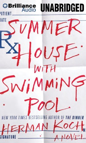 Herman Koch Summer House With Swimming Pool Mp3 CD