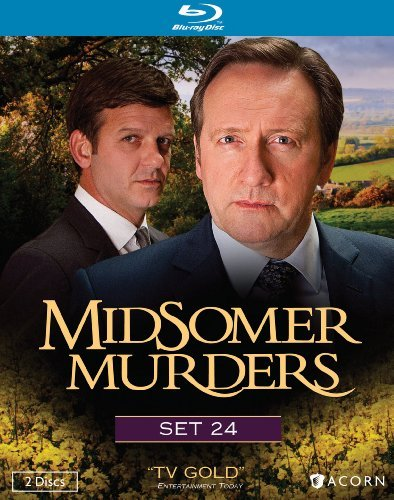 Midsomer Murders Set 24 Blu Ray