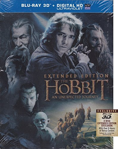 Hobbit An Unexpected Journey Steel Book (blu Ray Blu Ray Steel Book