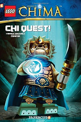 Comicon Lego Legends Of Chima #3 Chi Quest!