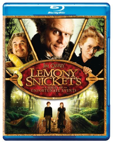 Lemony Snicket's A Series Of Unfortunate Events Carrey Law Aiken Blu Ray Pg