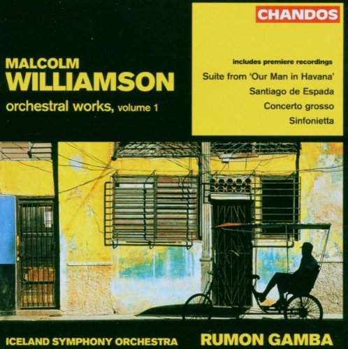 Williamson Orchestral Works Vol. 1 Gamba Iceland So