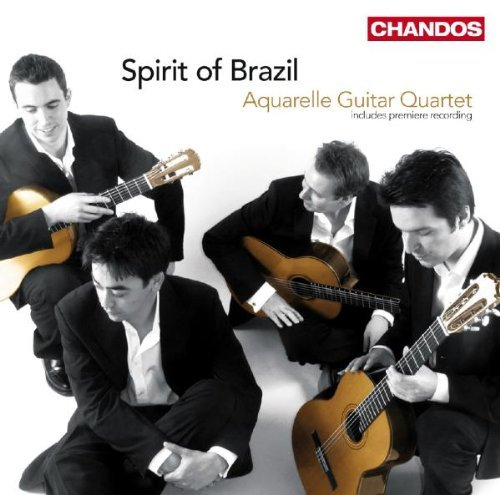 Aquarelle Guitar Quartet Spirit Of Brazil Aquarelle Guitar Quartet