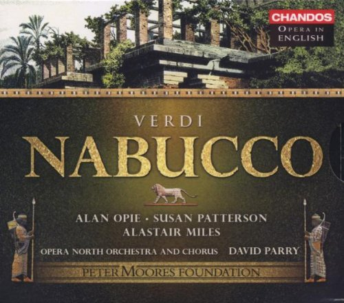 Giuseppe Verdi Nabucco (sung In English) Opera North Orchestra