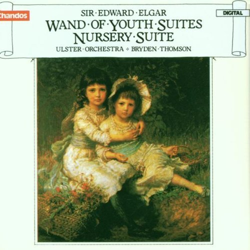 E. Elgar Wand Of Youth Ste 1 2 Nursery Thomson Ulster Orch