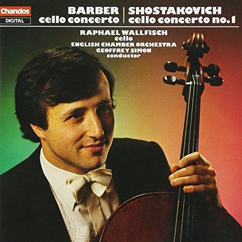 Barber/Shostakovich/Cello Concertos@Wallfisch*raphael (Vc)@Simon/English Co