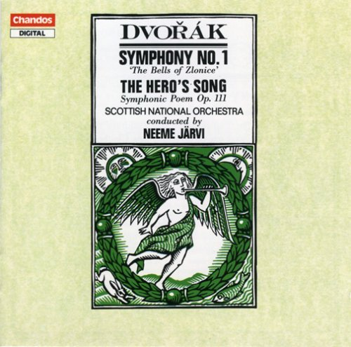 Antonin Dvorák Sym 1 Overt Hero's Song Jarvi Scottish Natl Orch