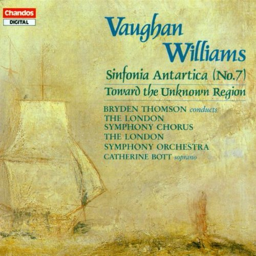 R. Vaughan Williams Sym 7 Toward The Unknown Regio Bott*catherine (sop) Thomson London So