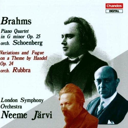 Johannes Brahms/Qt Pno (Schoenberg)/Var Hande@Jarvi/London So