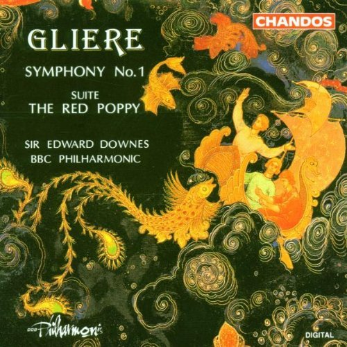 R. Gliere Sym 1 Red Poppy Ste Downes Bbc Po