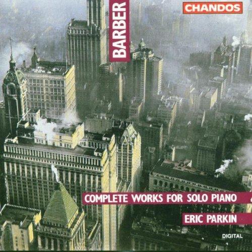 S. Barber/Piano Works@Parkin*eric (Pno)