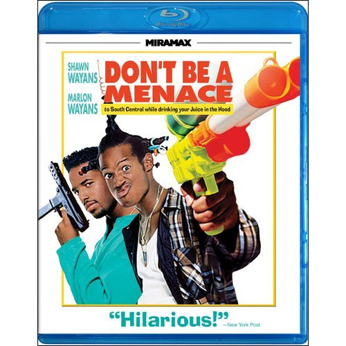 Don't Be A Menace To South Cen Wayans Wayans Wayans Blu Ray Ws R