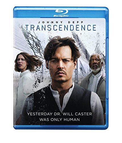 Transcendence Depp Bettany Mara Freeman Blu Ray DVD Uv Pg13