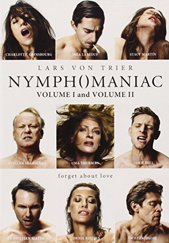 Nymphomaniac Volumes 1 & 2 Gainsbourg Skarsgard Labeouf Thurman Slater Dafoe DVD Nr