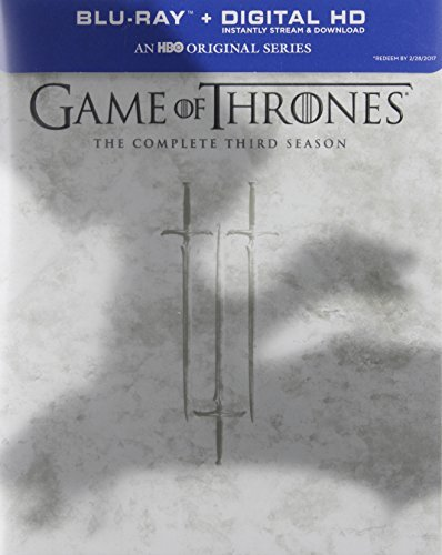 Game Of Thrones Season 3 Blu Ray Dc Nr