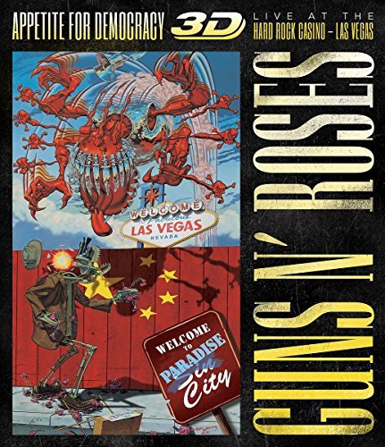 Guns N' Roses Appetite For Democracy Live At The Hard Rock Casino Explicit Blu Ray