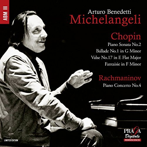 Chopin Rachmaninov Michela Piano Son 2 Ballade 1 Valse No