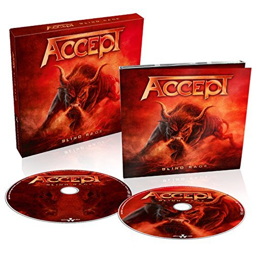 Accept Blind Rage Incl. DVD