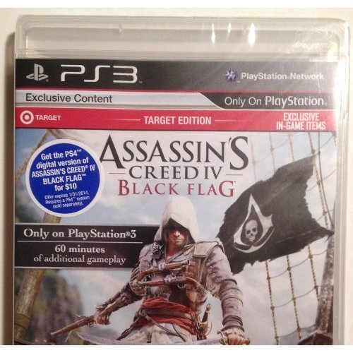 Ps3 Assassin's Creed 4 Black Flag (target Edition) Target Edition