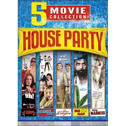 5 Movie House Party Collection 5 Movie House Party Collection