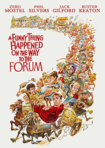 Funny Thing Happened On The Way To The Forum Mostel Silvers Keaton DVD Nr