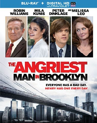 Angriest Man In Brooklyn Williams Kunis Dinklage Blu Ray R