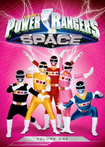 Power Rangers In Space Volume 1 DVD
