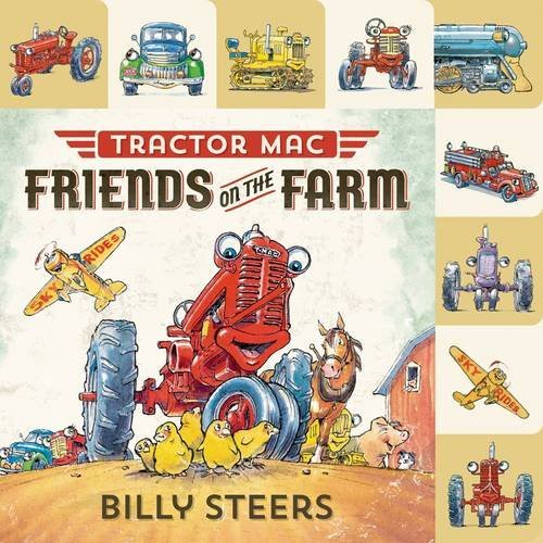 Billy Steers Tractor Mac Friends On The Farm