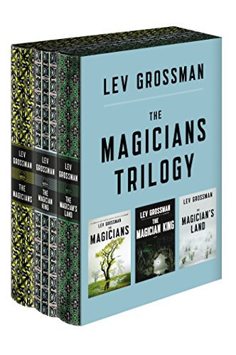 Lev Grossman The Magicians Trilogy Boxed Set The Magicians; The Magician King; The Magician's