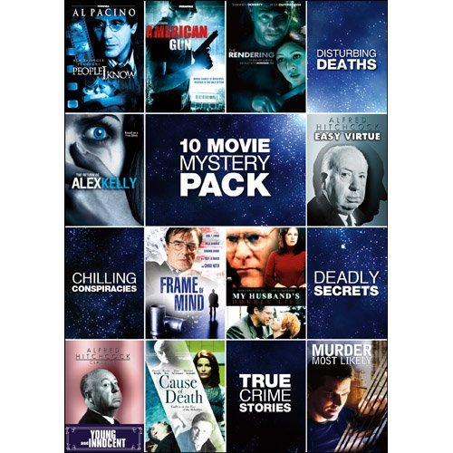 10 Movie Mystery Pack 10 Movie Mystery Pack Ws Nr 2 DVD