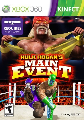 Xbox 360 Kinect Hulk Hogans Main Event Majesco Sales Inc. T
