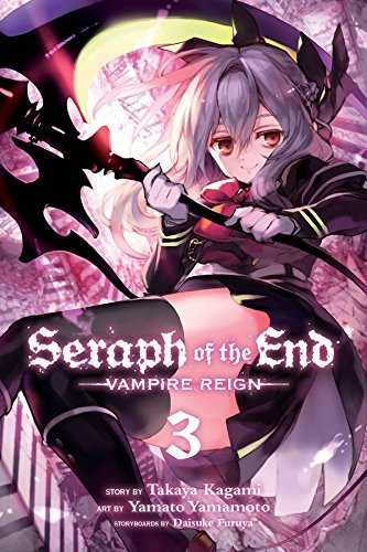 Takaya Kagami Seraph Of The End Vol. 3