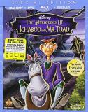 Adventures Of Ichabod & Mr Toad Disney Blu Ray DVD
