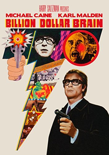 Billion Dollar Brain Caine Malden DVD Nr
